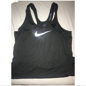 Nike pro dri fit tank top